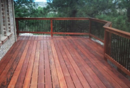 What material options are there for decks?